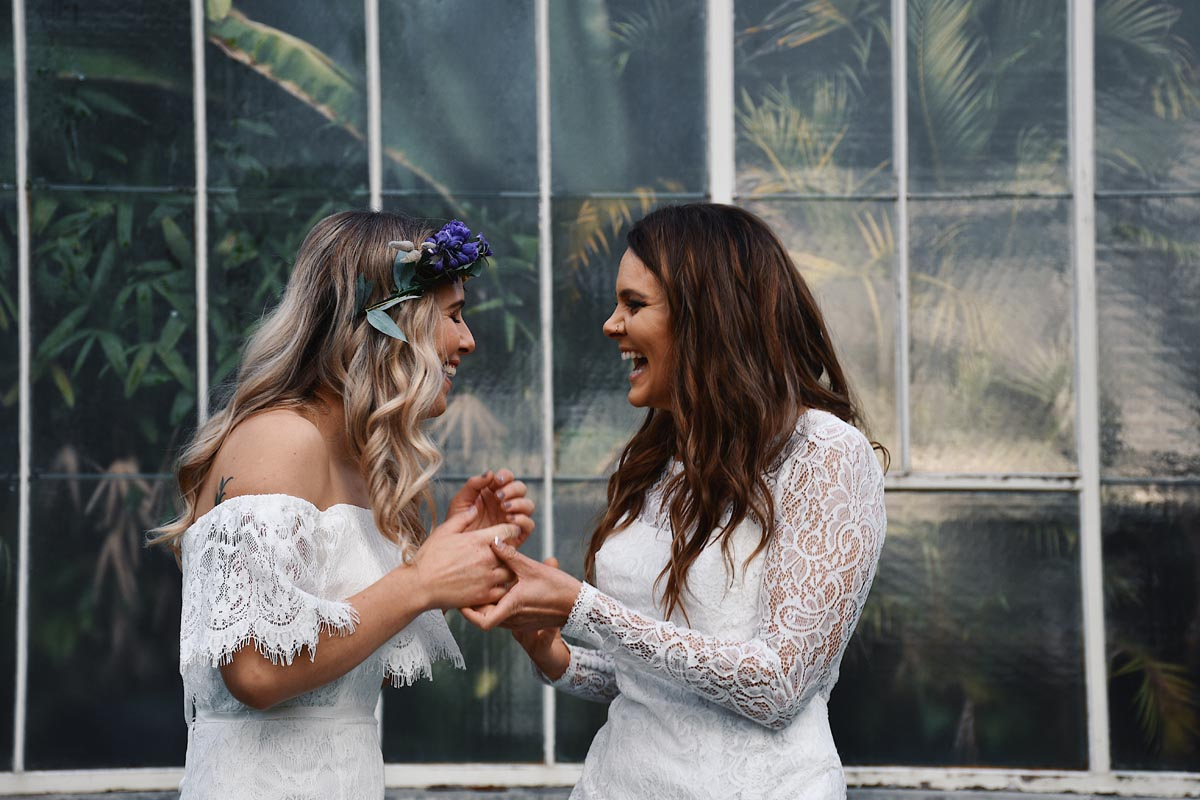 Emily Lear New Zealand lesbian same-sex wedding photographer Maori tradition Dancing With Her