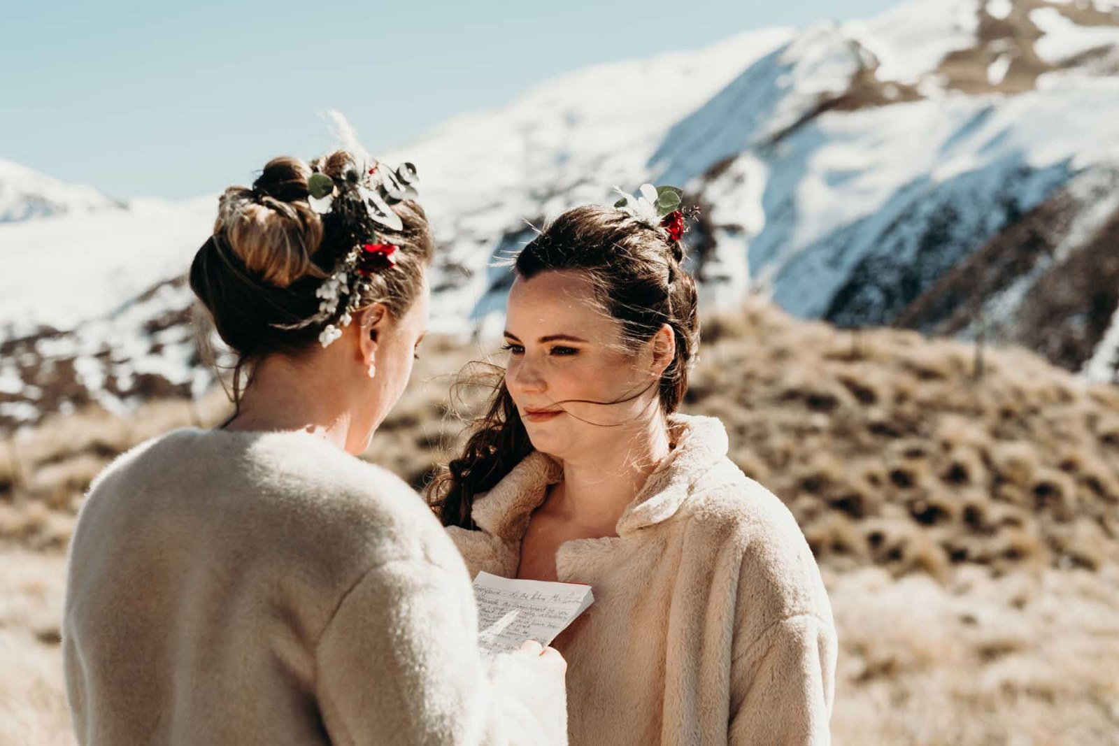 Fox & Kin elopement photography New Zealand lesbian two brides wedding Dancing With Her