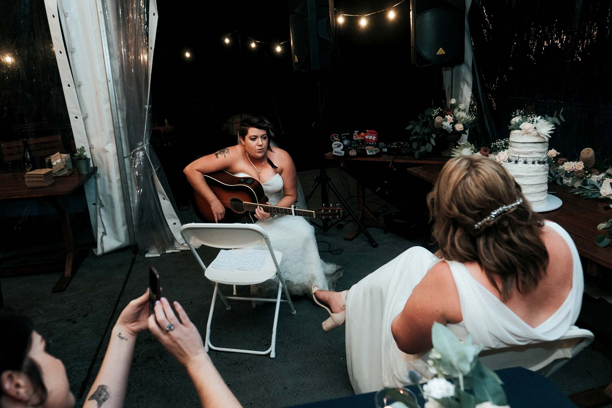 Henry Paul photography lesbian two brides New South Wales Australia country wedding Dancing With Her