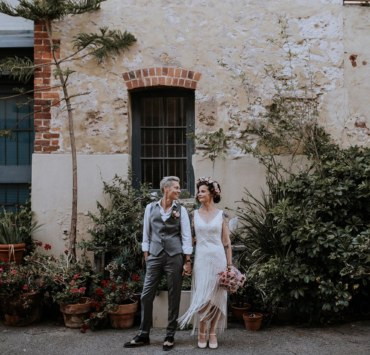 Jessica Josie Photography Western Australia Perth same-sex couple wedding Shane Ave lesbian suits Dancing With Her