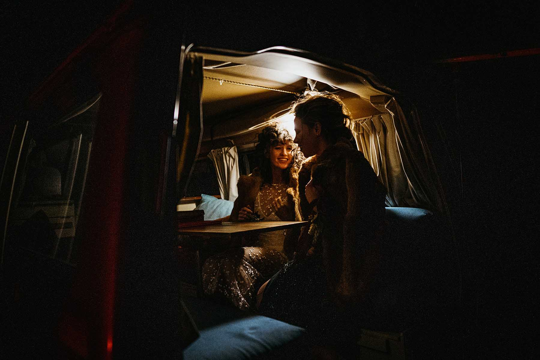 Lulu & Lime photography Victoria Australia Elopement glamping neon lesbian wedding Dancing With Her