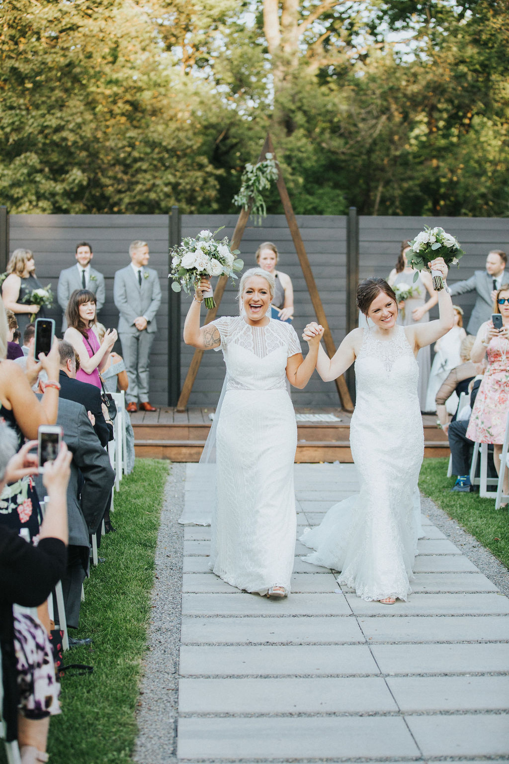 Meg Adamik photography lesbian two bride Chicago America marriage wedding Dancing With Her (3)