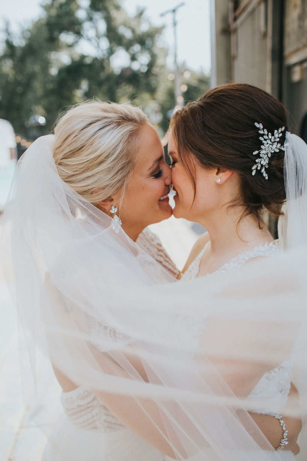 Meg Adamik photography lesbian two bride Chicago America marriage wedding Dancing With Her