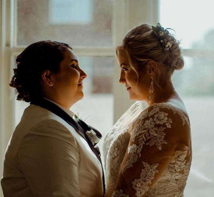 Megan Yanz Photography Milwaukee America lesbian gay wedding Dancing With Her magazine directory