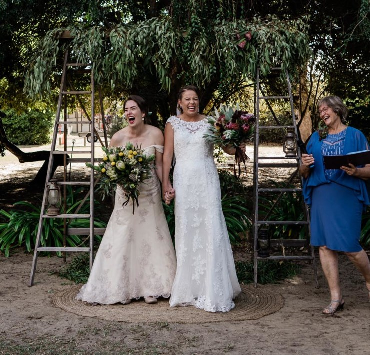 Peggy Saas-Same Sex Australia Wedding Photographer Western Australia lesbian couple Dancing With Her magazine