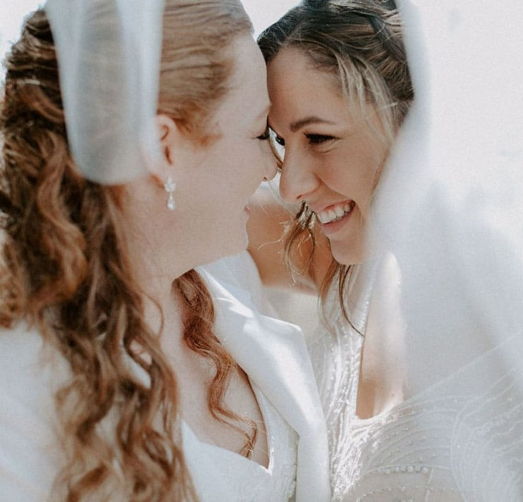 Raven and the Willow lesbian wedding photography Jewish cultural tradition California Los Angeles Dancing With Her
