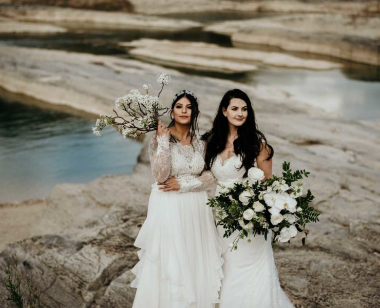 Stephanie Rogers Photography Modern Rebel & Co America Texas New York lesbian gay queer wedding elopement inspiration Dancing With Her worldwide magazine