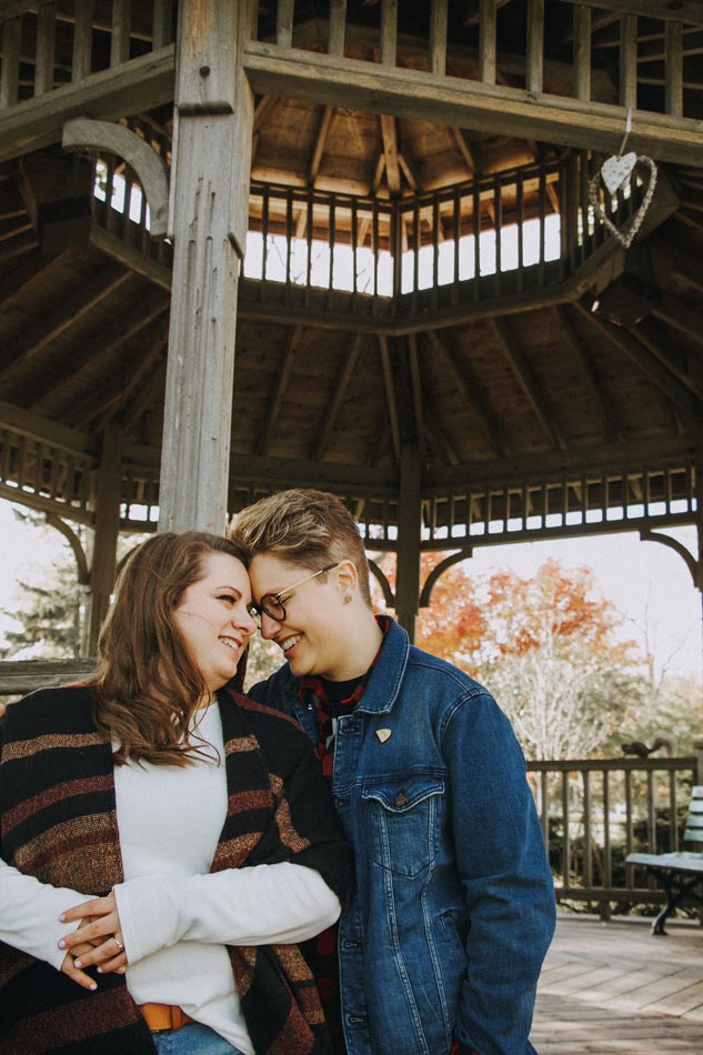 Stephanie Vella photography Toronto Canada lesbian gay couple engagement proposal photographer Dancing With Her wedding magazine