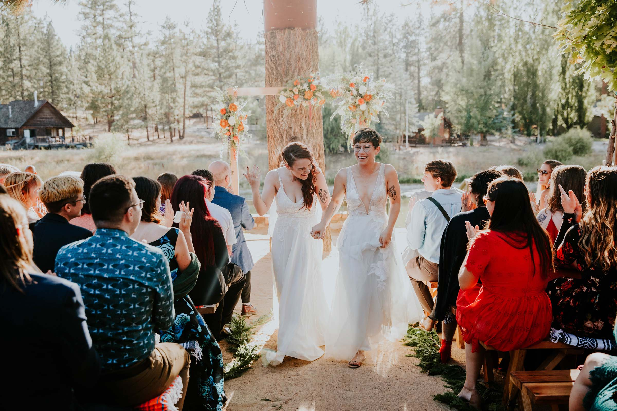 Studio XII Photography California lesbian two bride wedding Dancing With Her directory magazine