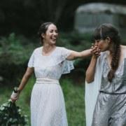 Thomas Frank Photography lesbian two bride same-sex couple wedding Kangaroo Island Dancing With Her magazine
