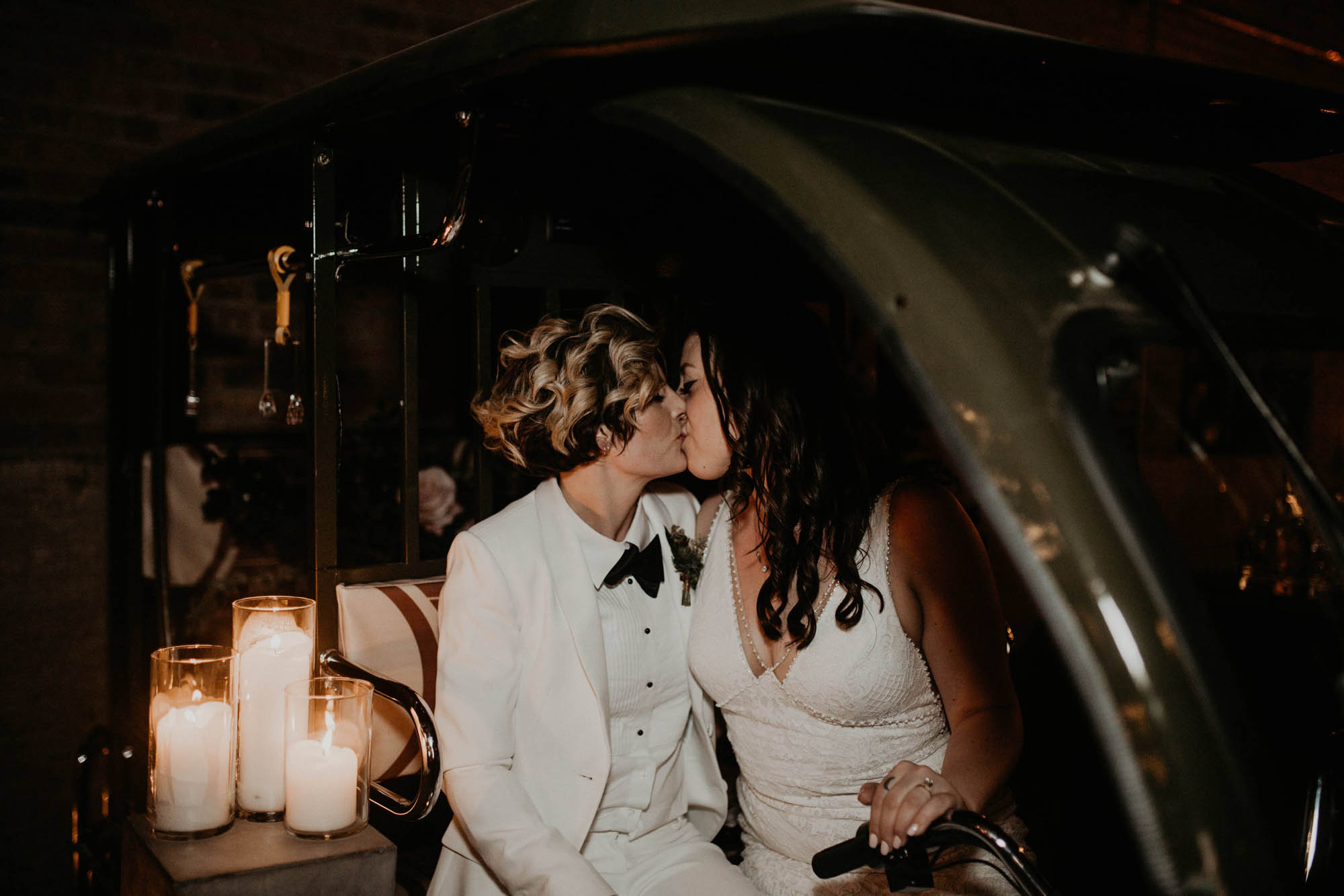 Vintage Inspired Modern Wedding - Chicago - Same-Sex Wedding Inspiration
