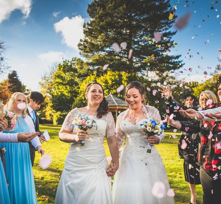 Yasmina Nadine Photography United Kingdom lesbian two brides wedding Dancing With Her print magazine directory