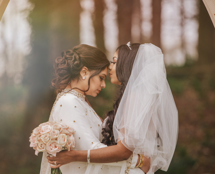 Cooper Studio photography lesbian two brides Indian India Jamaican Jamaica cultural wedding marriage Dancing With Her (2)