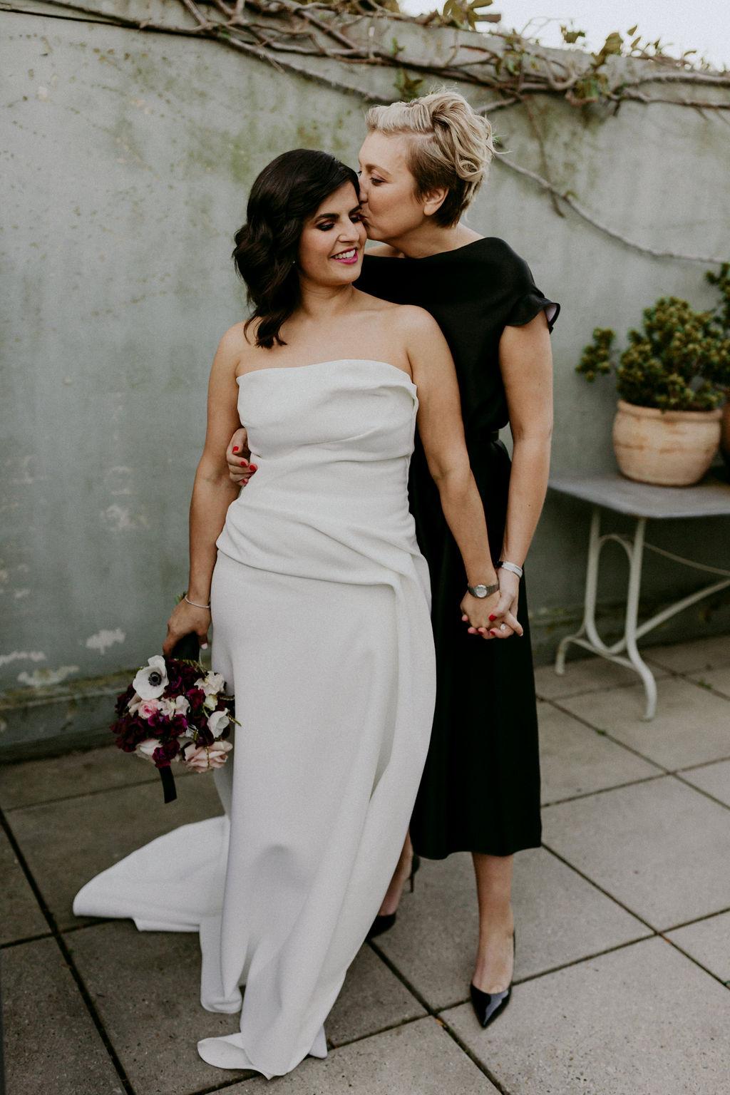 Emma Hampton Photography Centennial Park, Sydney, New South Wales lesbian two brides gay small wedding elopement Australia Dancing With Her digital magazine