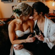 Jenn Marie photography South Bend USA American lesbian two bride same-sex couple wedding marriage Dancing With Her