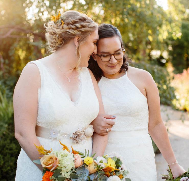 Kayla Bertagnolli Photography Salt Lake City Utah lesbian two bride Mrs & Mrs wedding America Dancing With Her