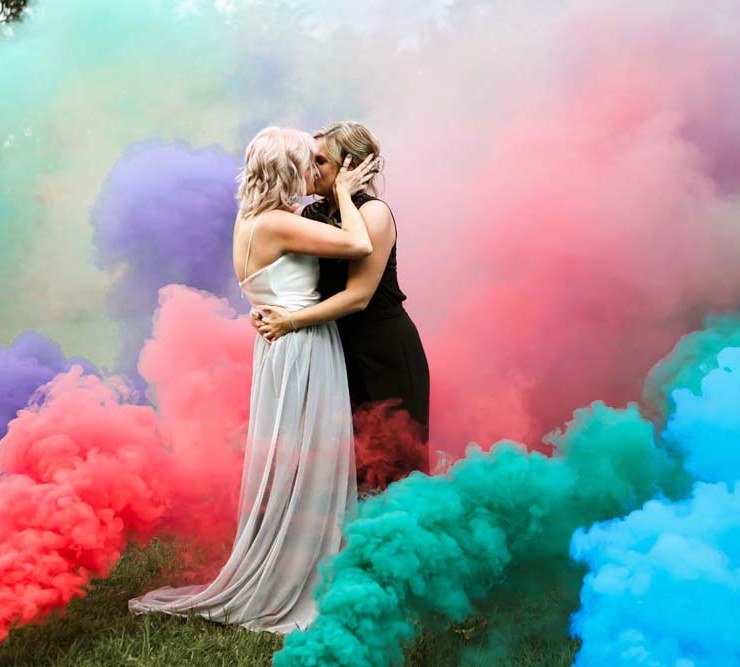 Lauren Greenberg Photography Missouri America lesbian two bride gay same-sex couple wedding marriage Dancing With Her