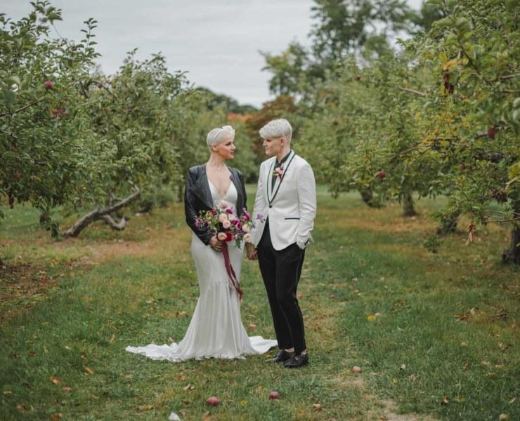 Amanda Macchia Photography Boston USA lgbtqia queer lesbian wedding marriage Dancing With Her print magazine online directory