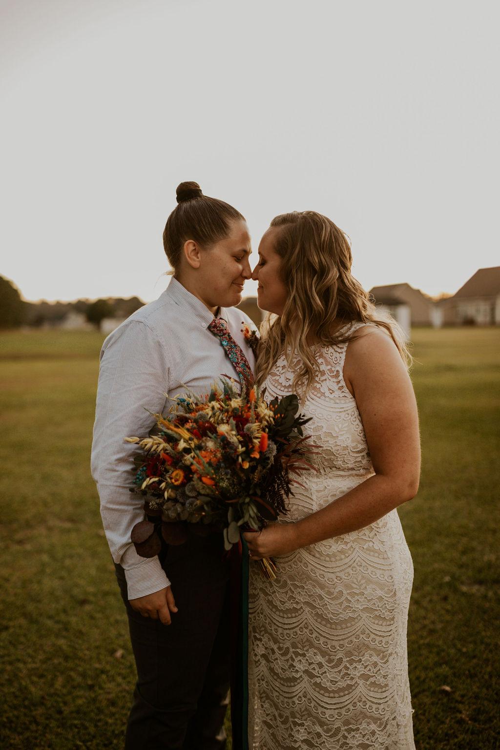 Mady Noel Photo Washington USA same-sex lesbian gay couple wedding photography Dancing With Her magazine