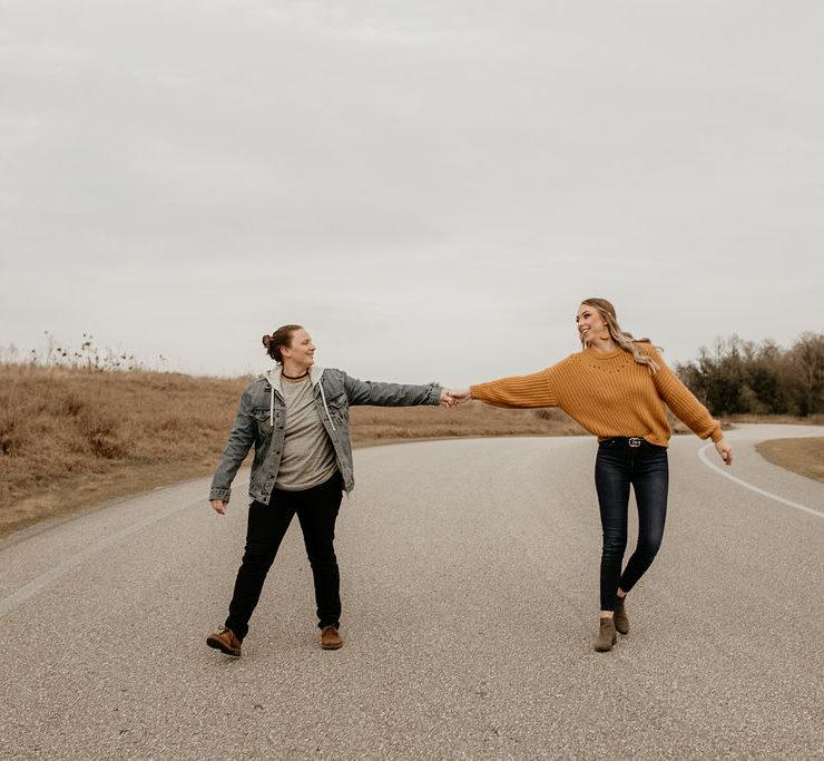 Crystal Photography Orlando Florida USA lesbian same-sex couple love photos Dancing With Her online wedding directory magazine
