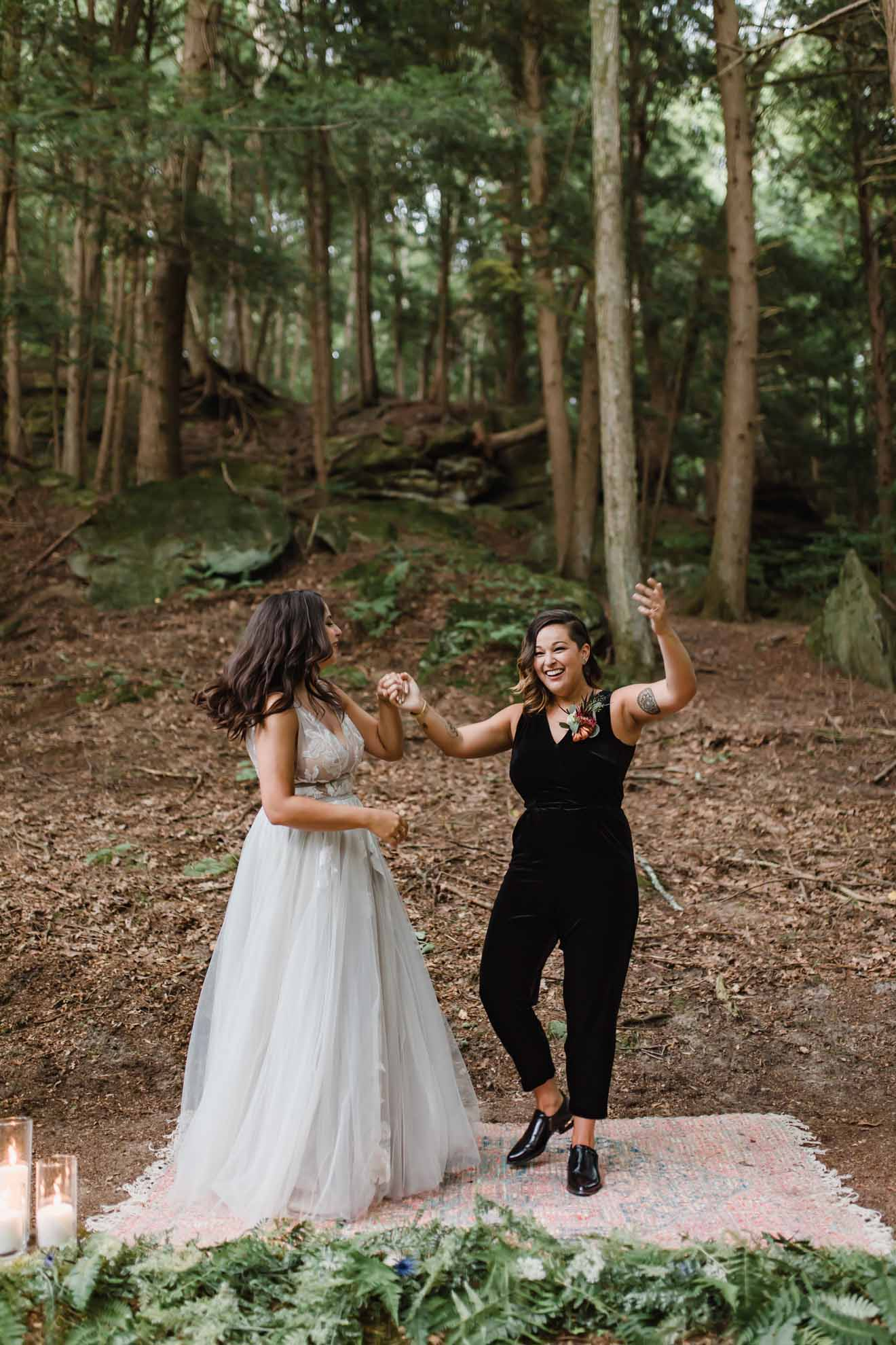 Fox and Twig photography Ohio American USA lesbian same-sex two brides mrs & mrs wedding marriage Dancing With Her worldwide magazine (1)