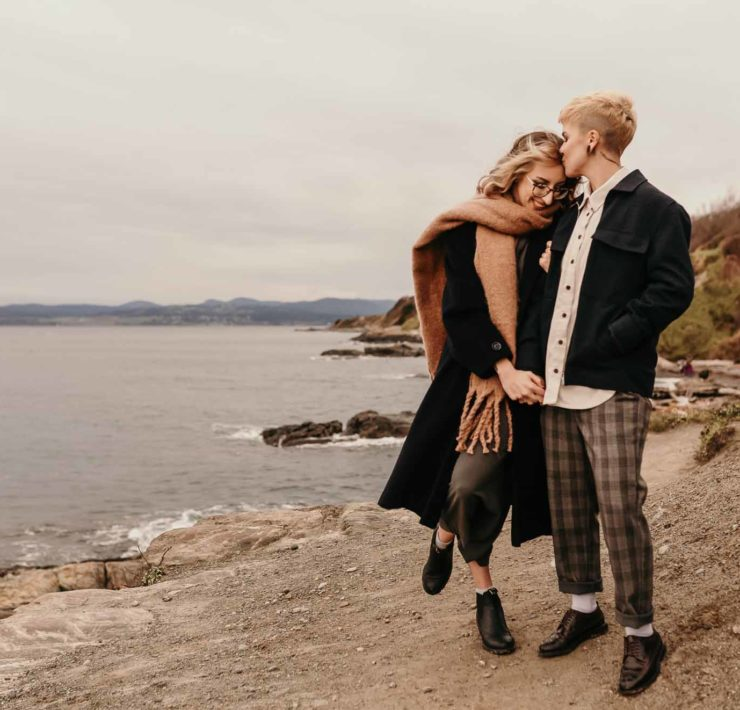 Julia Marie Loglisci photography Victoria Canada queer same-sex non-binary gay couple love Dancing With Her magazine online directory (1)