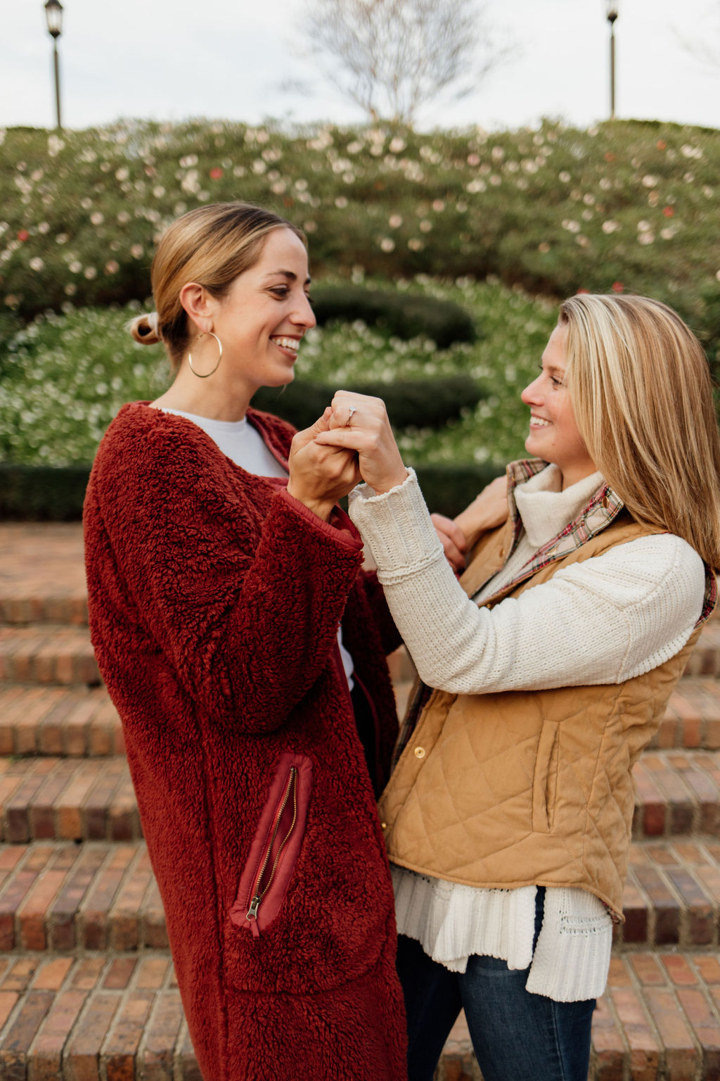 Nicole Rae Photography lesbian gay same-sex lgbt+ queer proposal engagement Virginia USA Emily Chelsea Jewelry Dancing With Her (1)