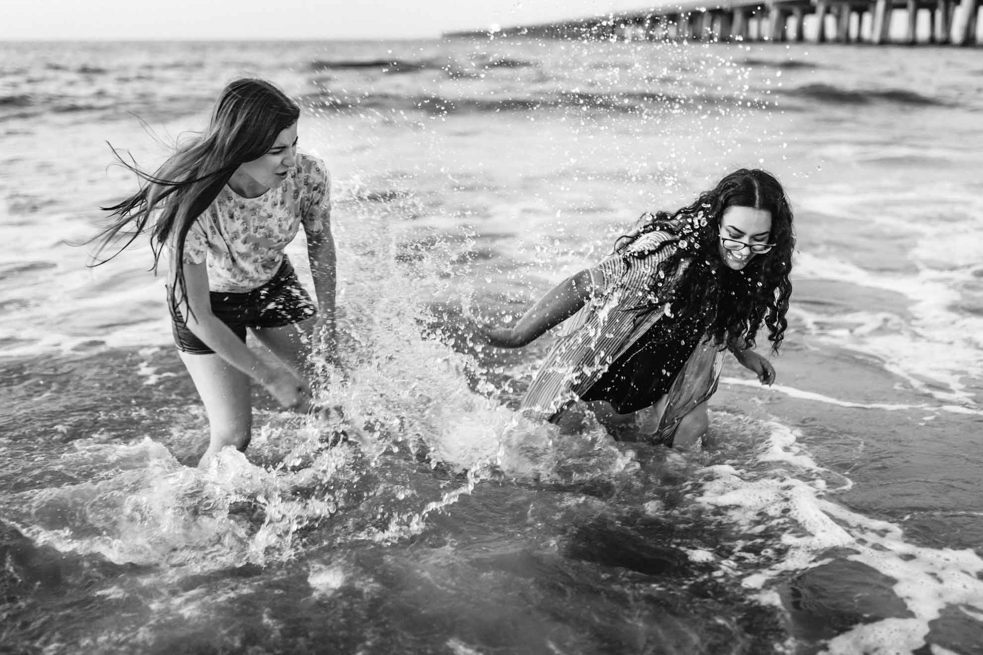Xiaoqi-Li-Photography Virginia Beach USA American hiking lesbian same-sex two brides engagement proposal Dancing With Her queer publication magazine