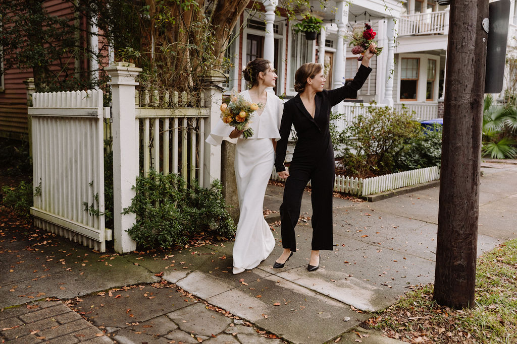 Elizabeth Ervin Photography USA Charleston South Carolina lesbian same-sex two brides COVID-19 small wedding elopement Dancing With Her (1)