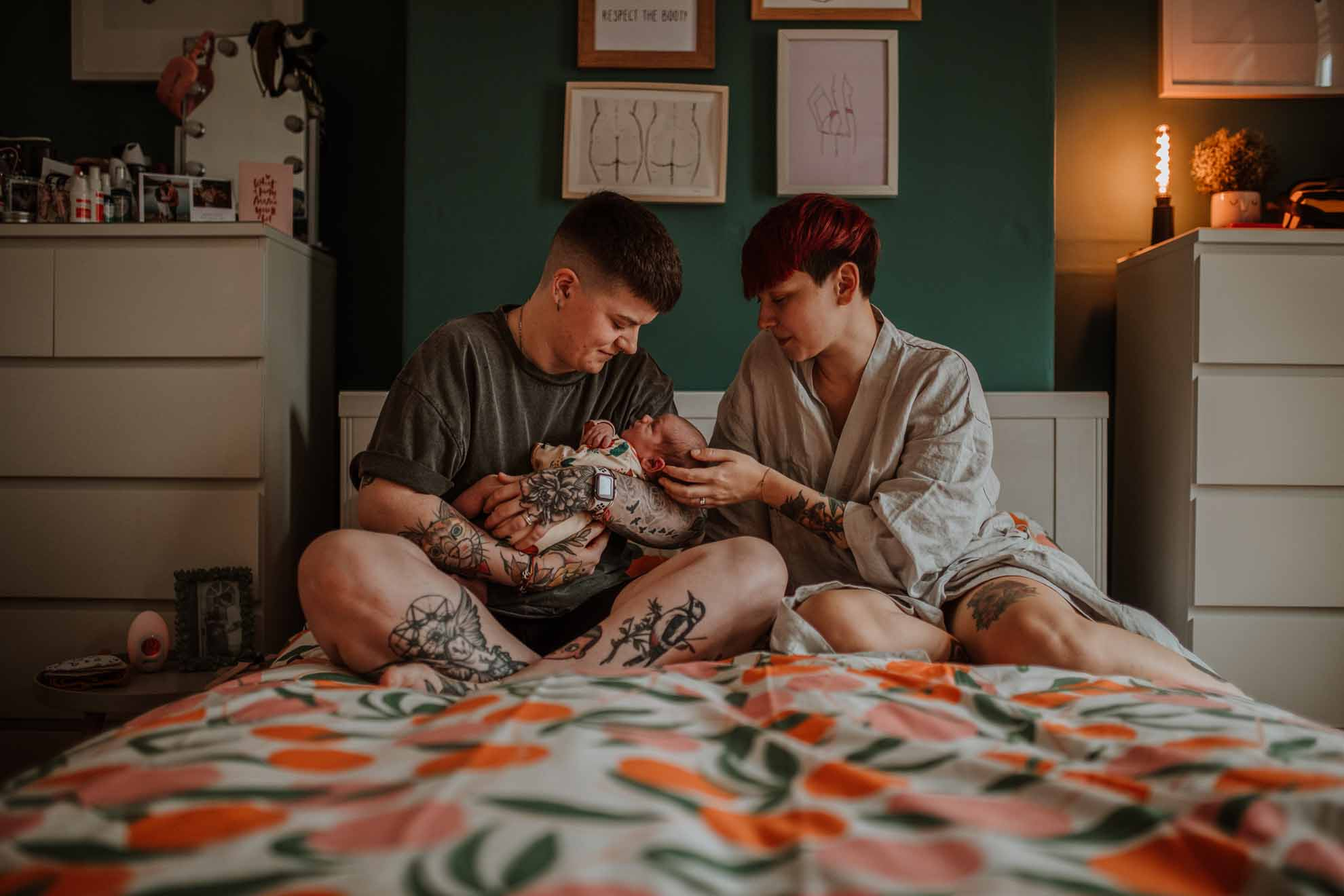 Hannah Bracher photography lesbian gay queer IUI Donor family United Kingdom Dancing With Her magazine (1)