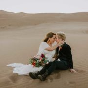 Lunalee Photography lesbian gay lgbtqia+ elopement wedding Colorado American desert Dancing With Her worldwide magazine (2)