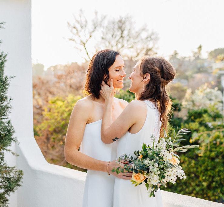 Nicole Catherine photography lesbian gay lgbtqia+ LA Los Angeles small wedding COVID-19 Dancing With Her online magazine (1)