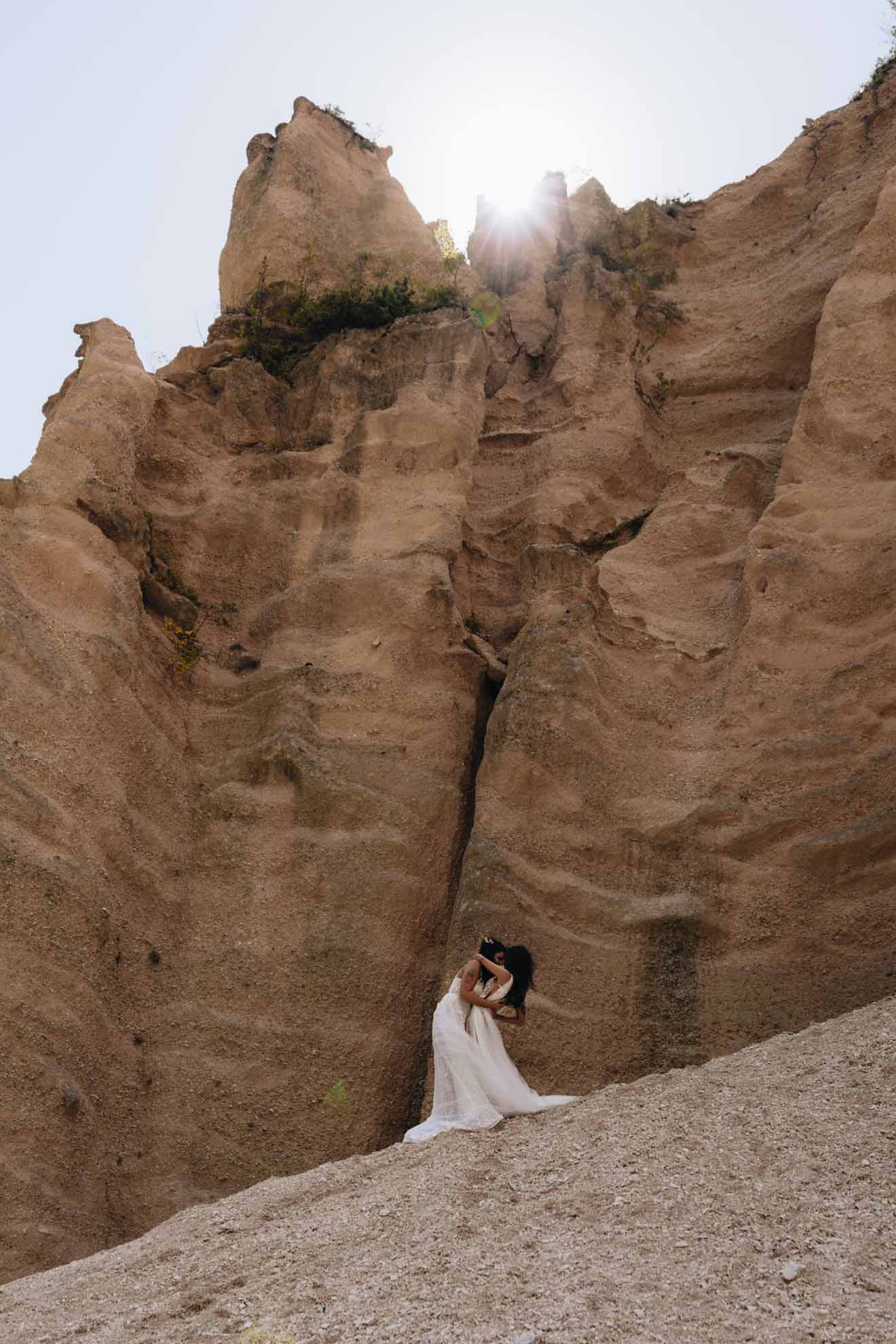 Paola Lattarini- Lame Rosse-Italy Florence Europe two brides Mrs & Mrs lesbian gay lgbtq+ wedding marriage Dancing With Her Magazine