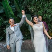 millwick wedding Los Angeles photographer J Wiley Photography inter-racial Mexican and Puerto Rican lesbian gay lgbtq+ couple wedding marriage USA
