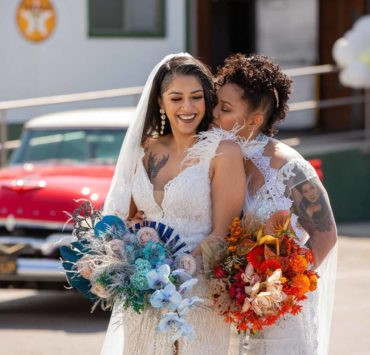 Gloria-Mesa-Photography-Yvonne Wolf Events Filipino Hispanic LESBIAN gay lgbtq+ wedding elopement hot rods Hollywood USA Dancing With Her