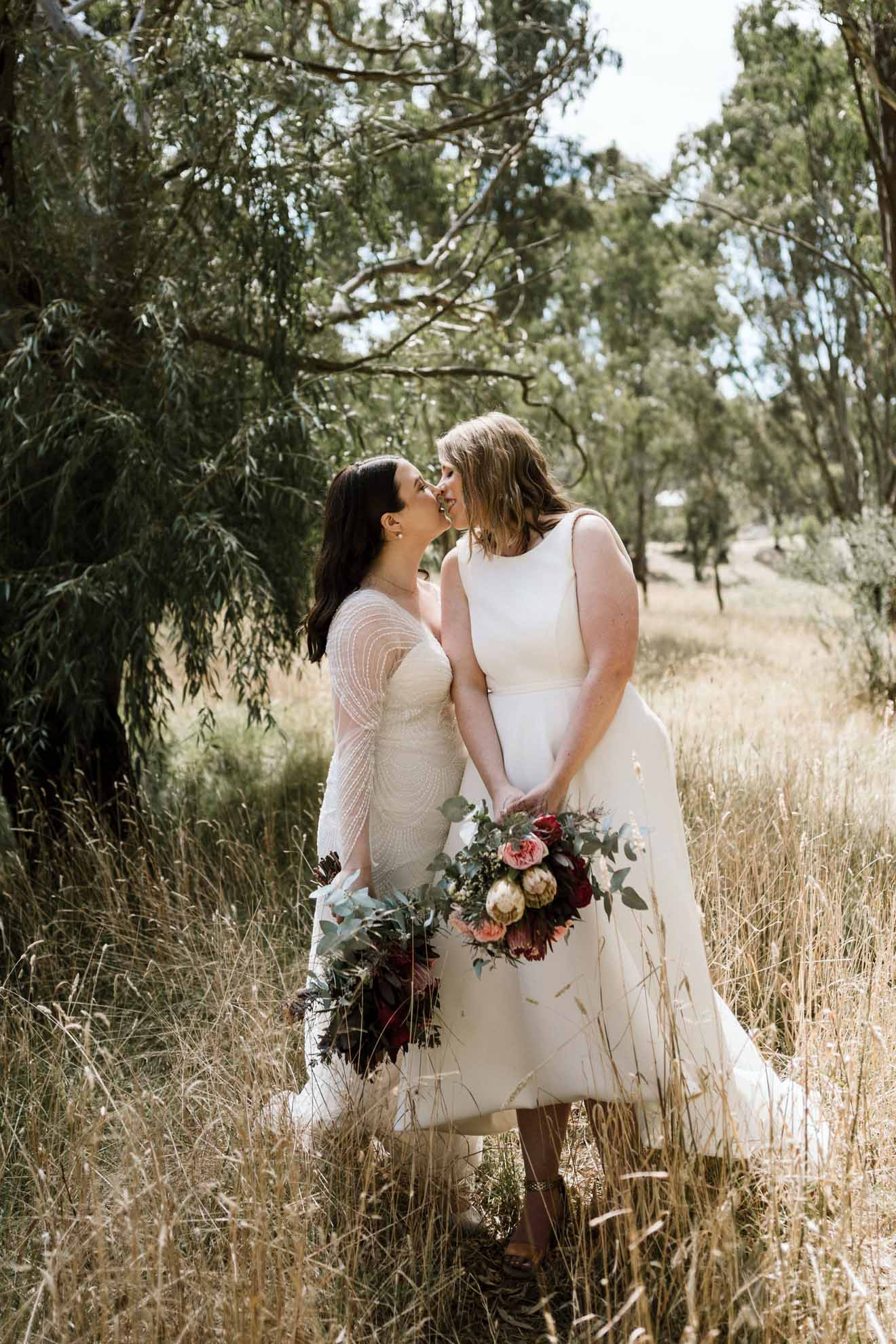 Gold & Grit photography lesbian gay lgbtq+ Melbourne Victoria wedding Dancing With Her magazine Australia (1)