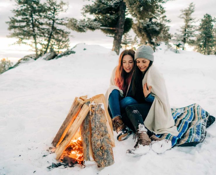 Thistle & Pine Creative lgbtq+ lesbian gay winter snow engagement proposal Idaho America Dancing With Her magazine (1)