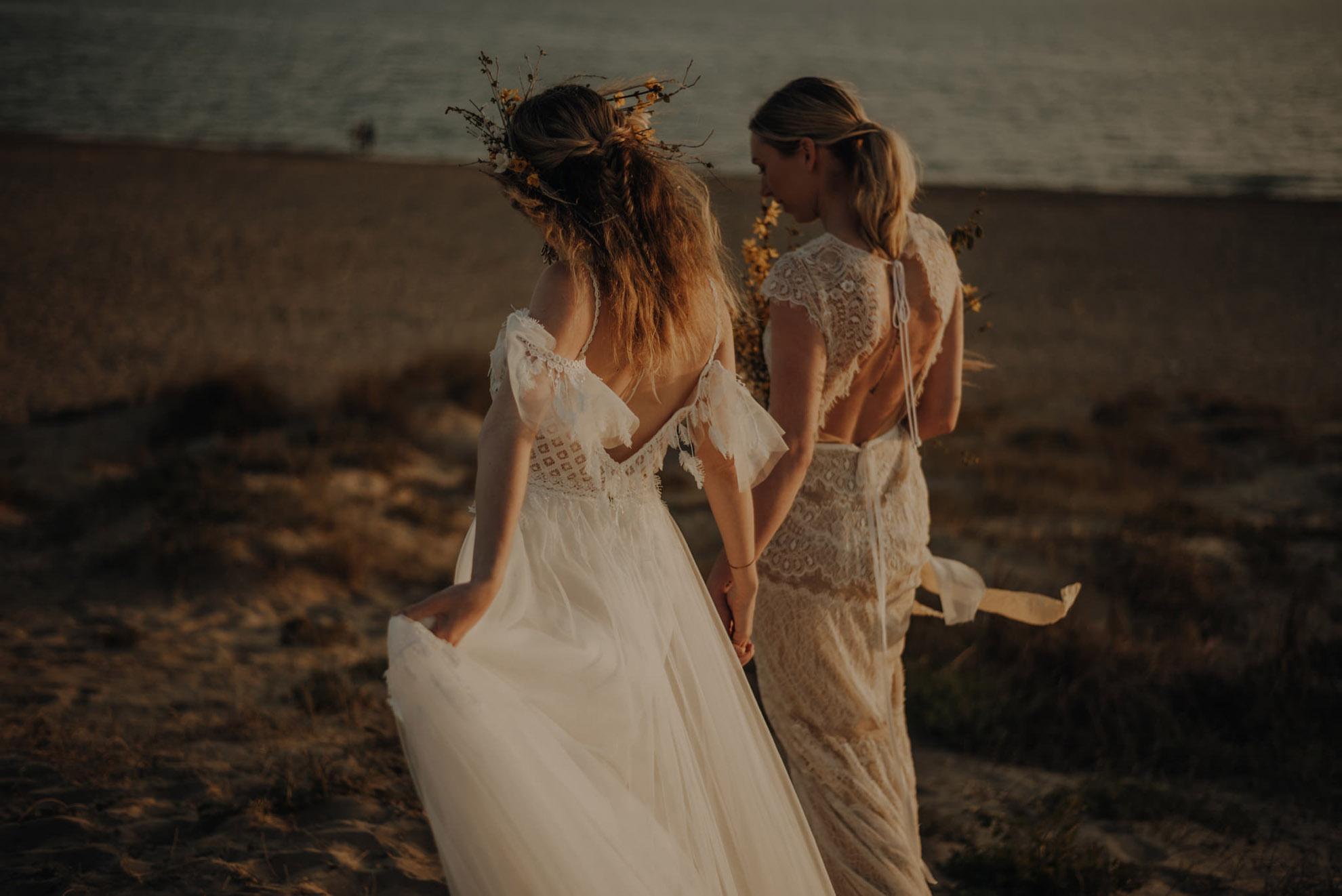 AmorVincitOmnia PHOTOGRAPHY Rita photos lesbian gay same-sex lgbtqia+ couple love Italy Rome beach Dancing With Her worldwide magazine