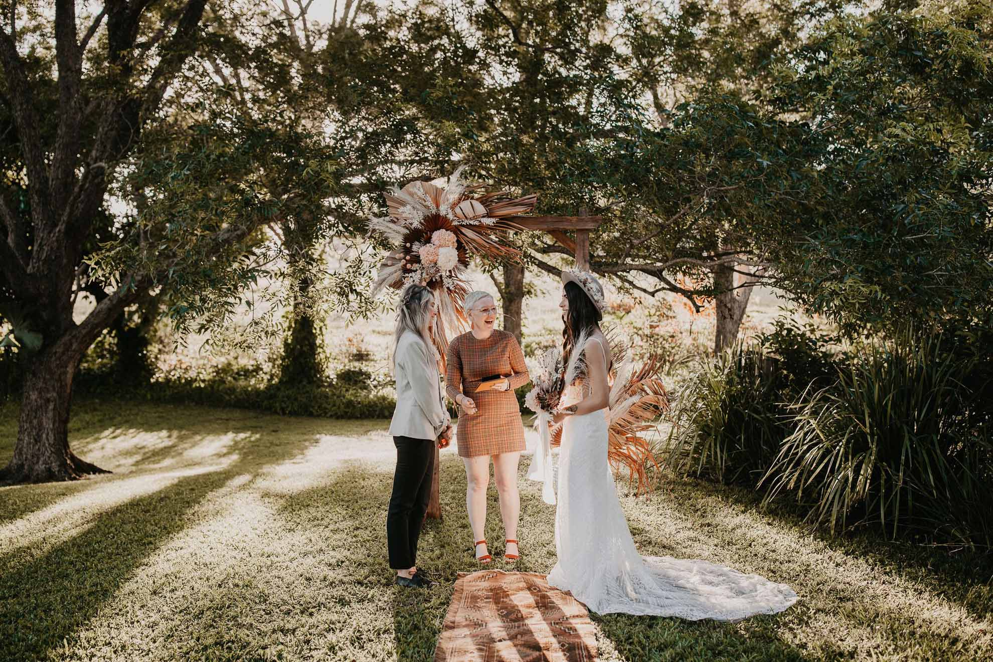 The Wild Hitcher wedding elopement celebrant Queensland Gold Coast lesbian gay same-sex lgbtq+ marriage Dancing With Her magazine (1)