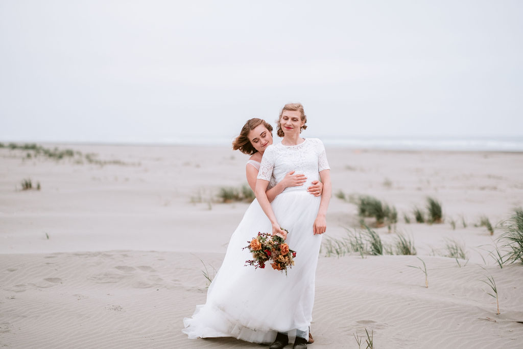 Alesha Brown - Rove Coast Photography queer trans lesbian couple marriage wedding USA Dancing With Her (1)