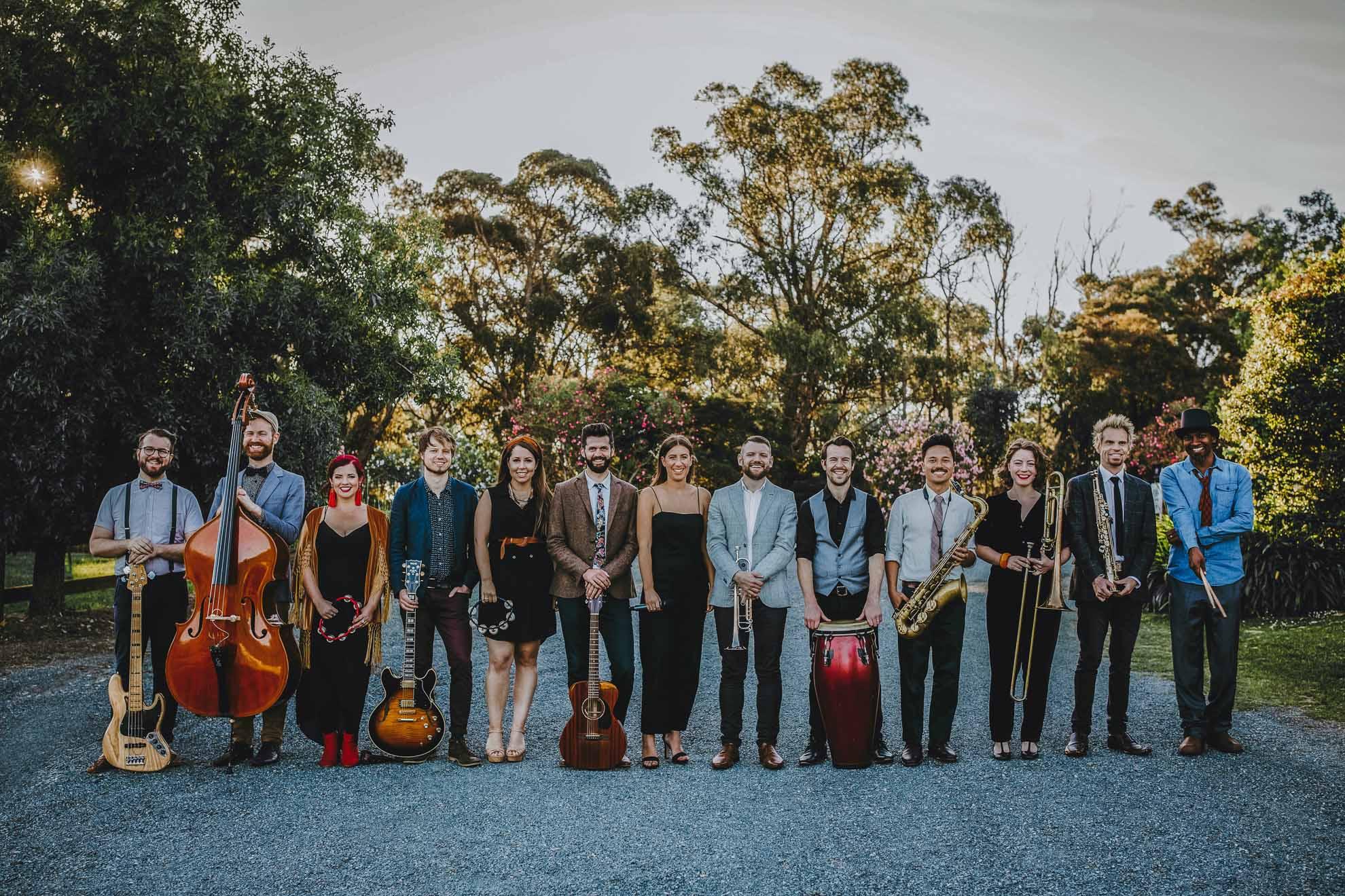 Baker Boys Band lesbian LGBTQIA+ Melbourne Sydney Australia wide wedding musicians entertainment videographers Dancing With Her
