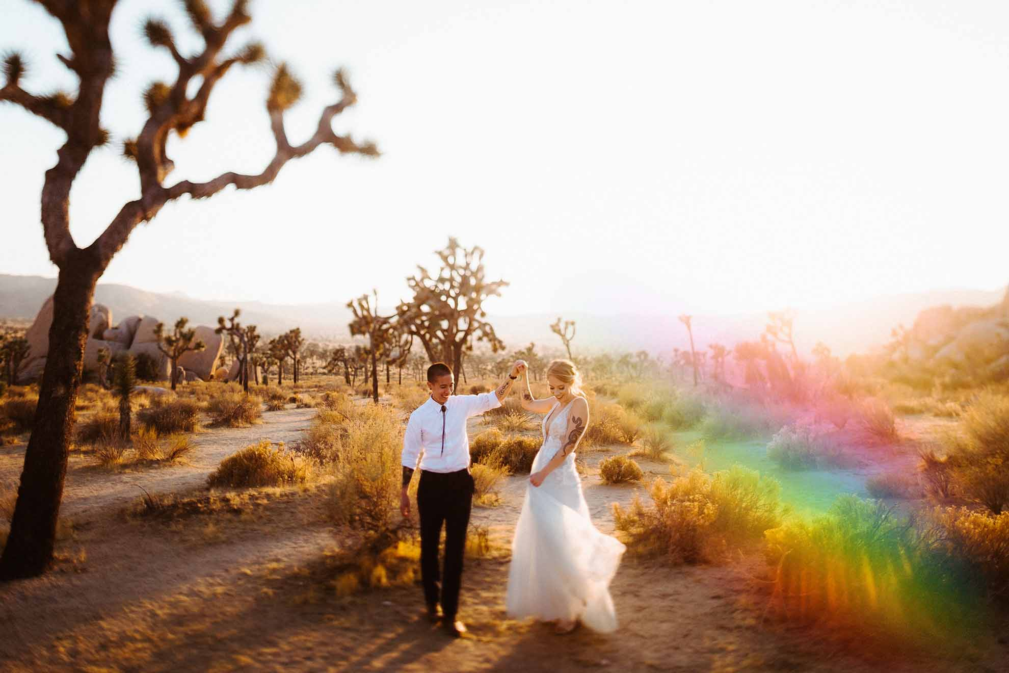 DWH 002 - The Hendrys lesbian gay same-sex queer wedding elopement Los Angeles California USA Dancing With Her (10)