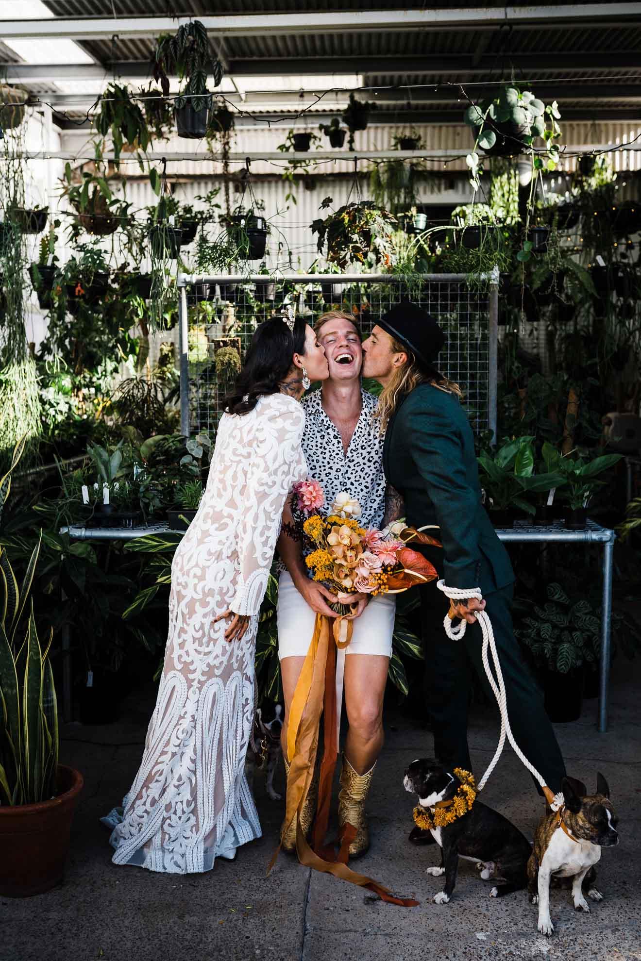 Holymatrimonty lesbian gay same-sex couple wedding civil marriage celebrant Newcastle NSW Australia Dancing With Her directory magazine