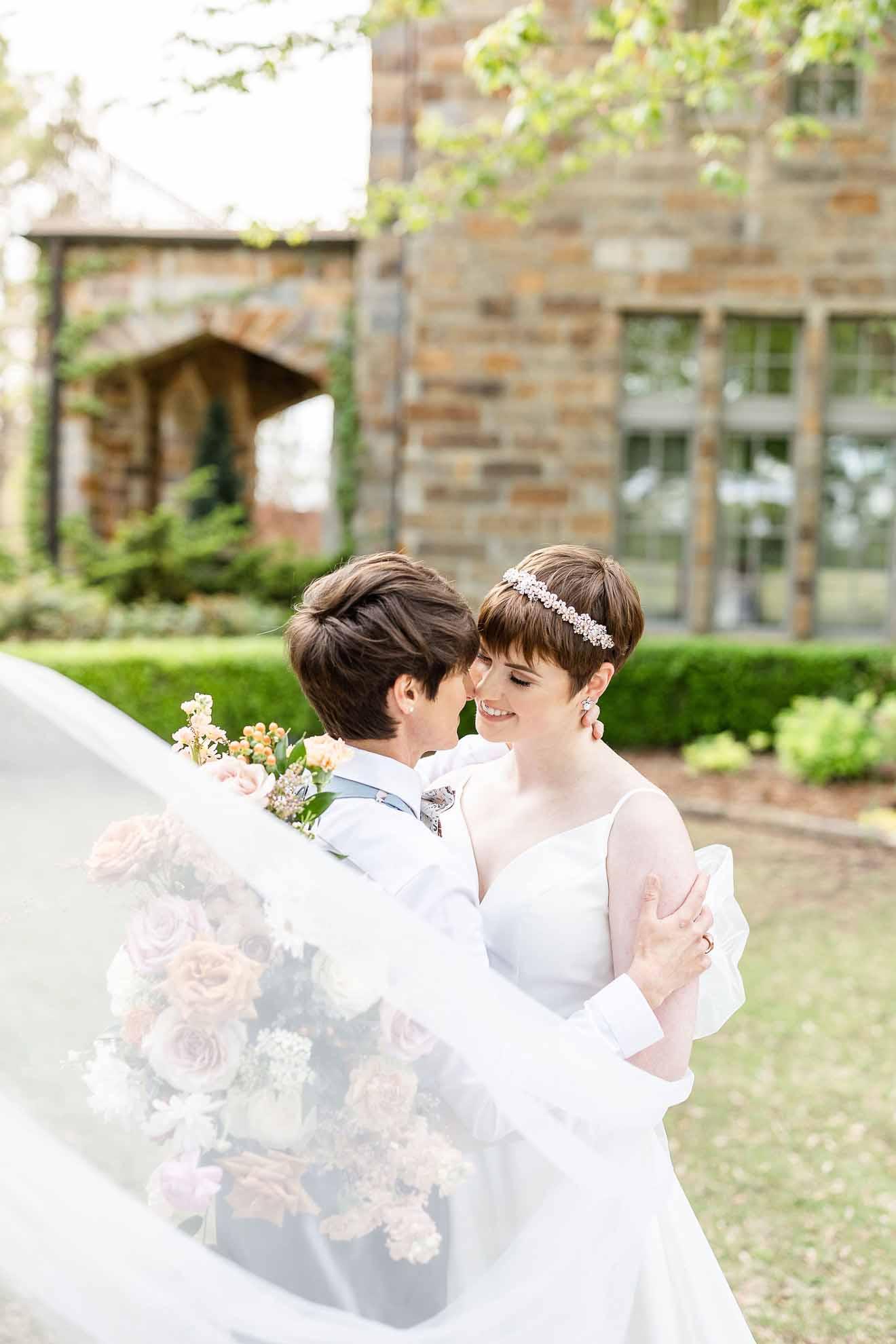 Morgan Lee Ansel photography lesbian same-sex LGBTQIA+ manor wedding Arkansas USA Dancing With Her (4)