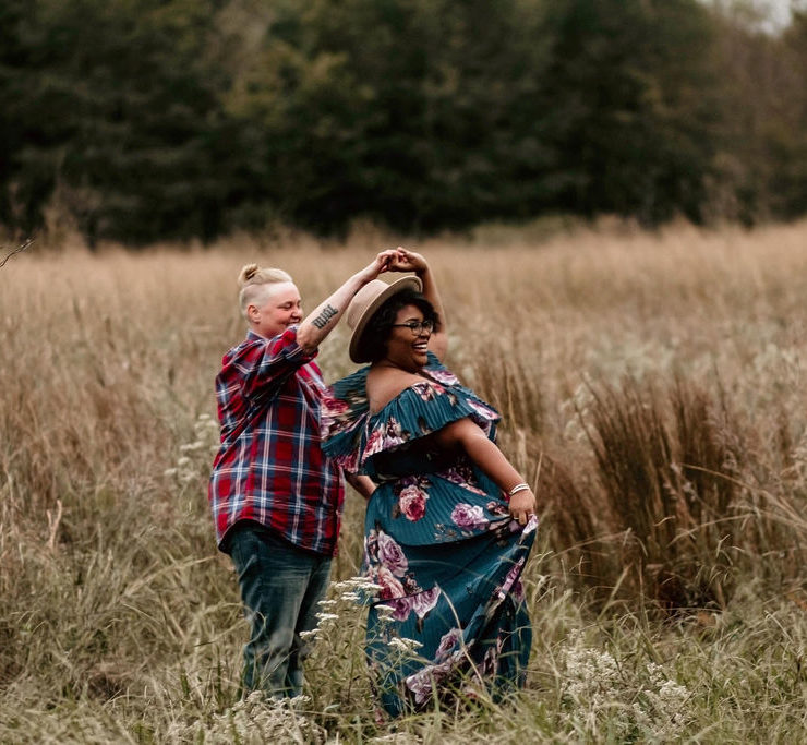 Photography by Clesi Guice lesbian gay queer surprise proposal engagement Louisina USA Dancing With Her (1)