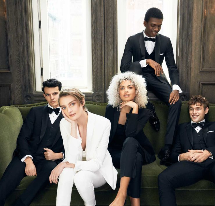 SuitShop lesbian gay queer non-binary wedding elopement suits Dancing With Her