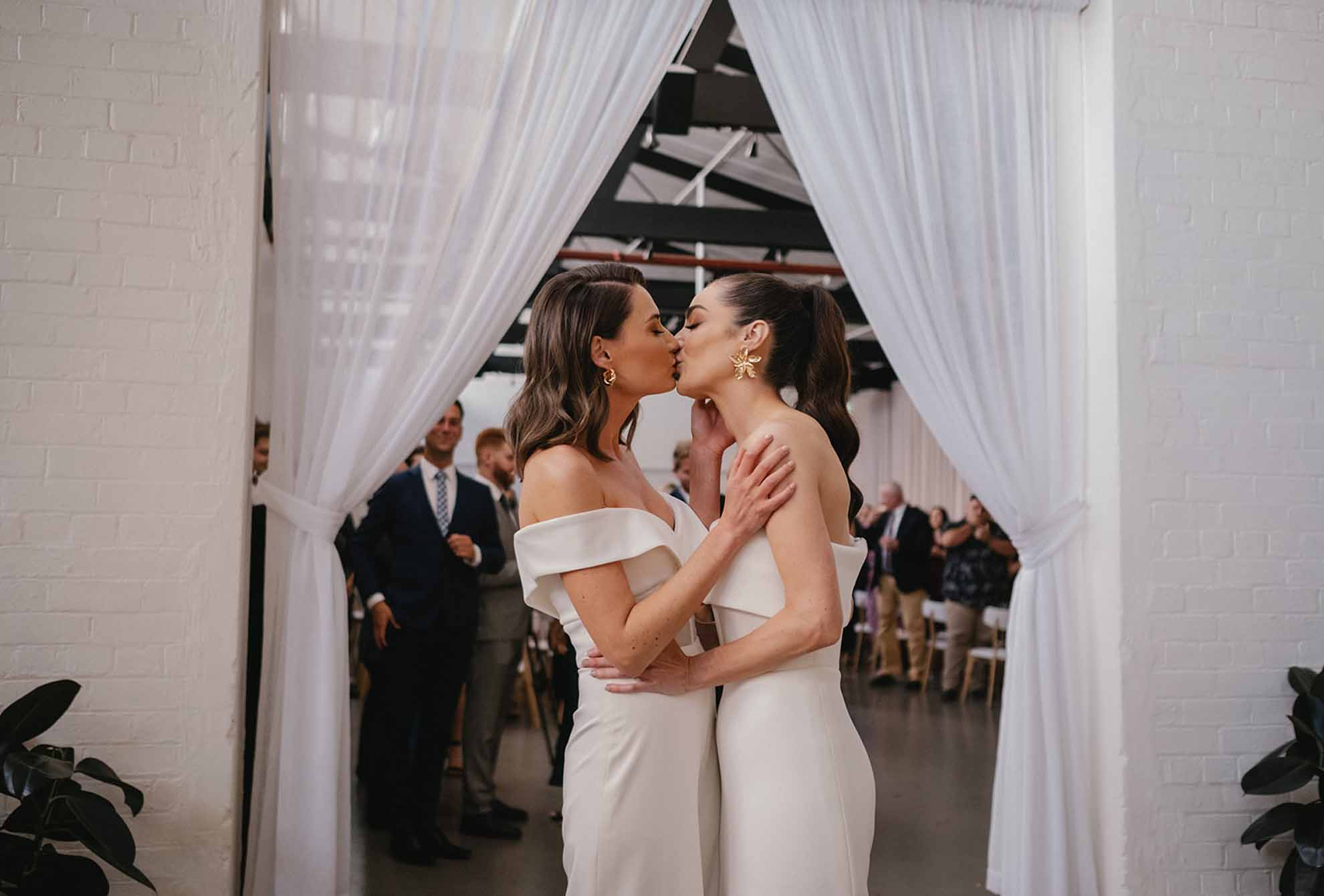 The Wool Mill by Nudo Brunswick Melbourne city lesbian gay LGBTQIA+ wedding elopement venue florist planners Dancing With Her magazine