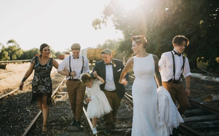 Kyra_Boyer Photography Victoria Melbourne City lesbian gay LGBTQIA+ wedding, elopement engagement photos Dancing With Her (3)