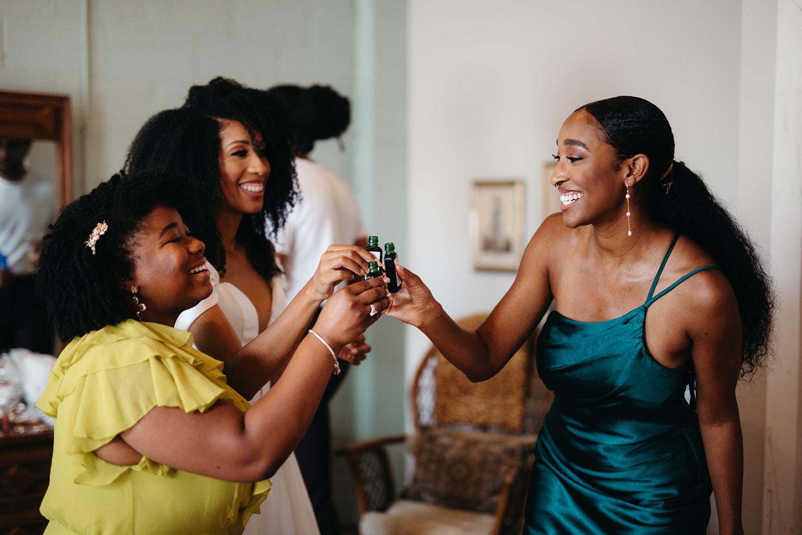 Shawnee Custalow photography lesbian gay same-sex black West Indian wedding USA Dancing With Her magazine