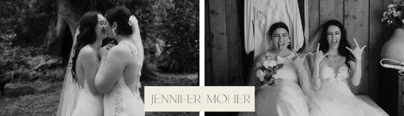 DWH vendor website badge Jennifer Moher photographer Toronto Canada lesbian same-sex gay wedding Dancing With Her LGBTQIA magazine